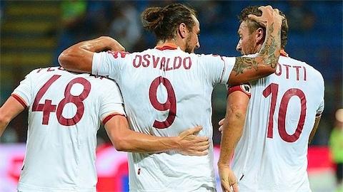 Totti Osvaldo Florenzi