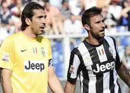 Buffon Vucinic Juventus