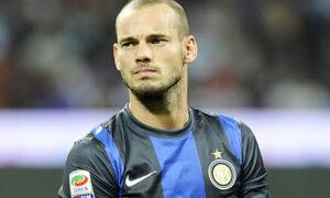 Internazionale's Wesley Sneijder