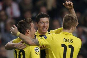 Ajax vs Borussia Dortmund - UEFA Champions League 2012/2013