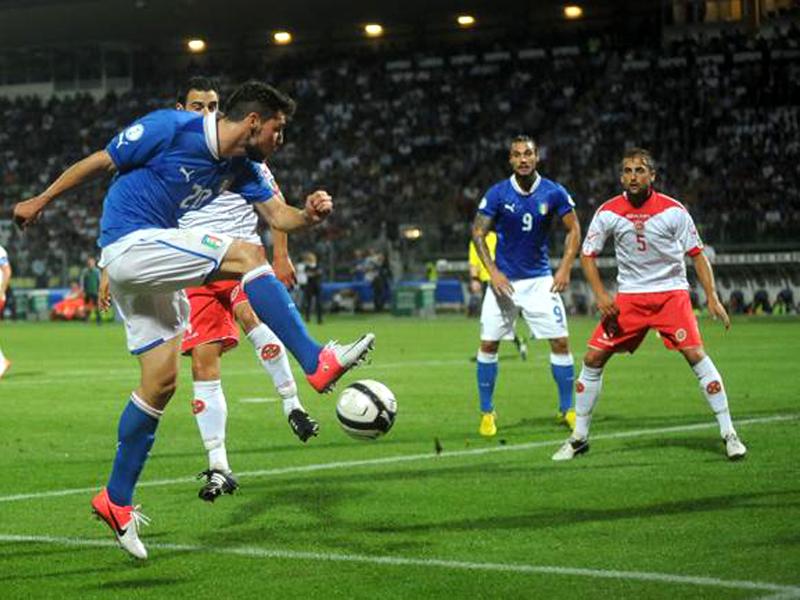 Qualificazioni Mondiali 2014, Italia Vs Malta