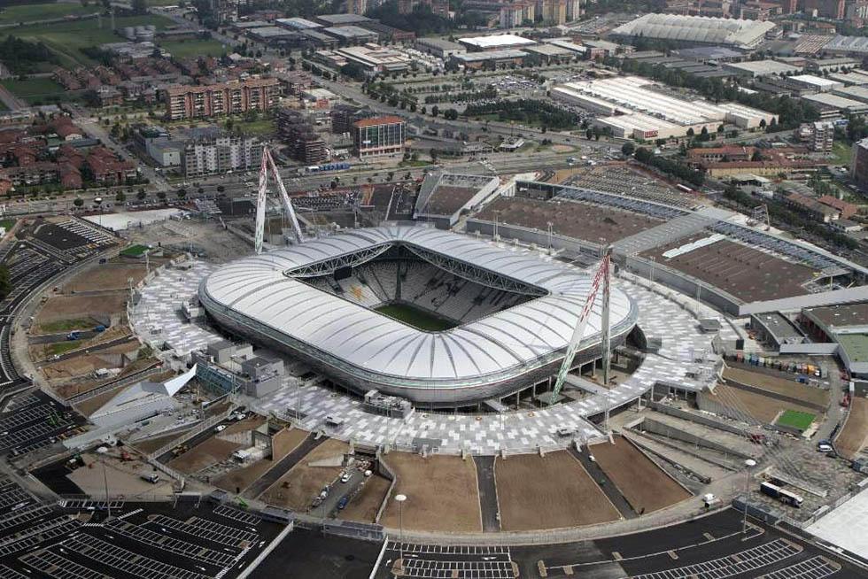 Avanzamento dei lavori del nuovo stadio della Juventus