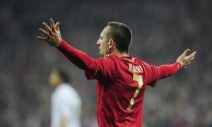 Bayern Munich's French midfielder Franck