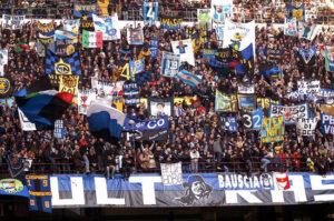 CALCIO - INTER-BRESCIA - TIFOSI INTER - FOTO GUATELLI