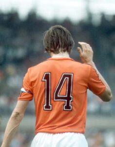 JOHAN CRUYFF.De handjes van Johan Cruyff.© foto Guus de Jong.