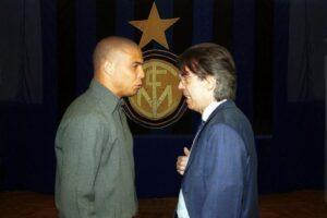 Moratti e Ronaldo