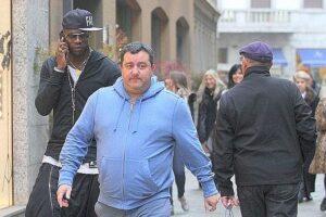 Mario Balotelli e Mino Raiola per shopping
