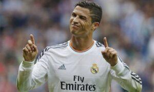 Cristiano Ronaldo, Real Madrid v Málaga