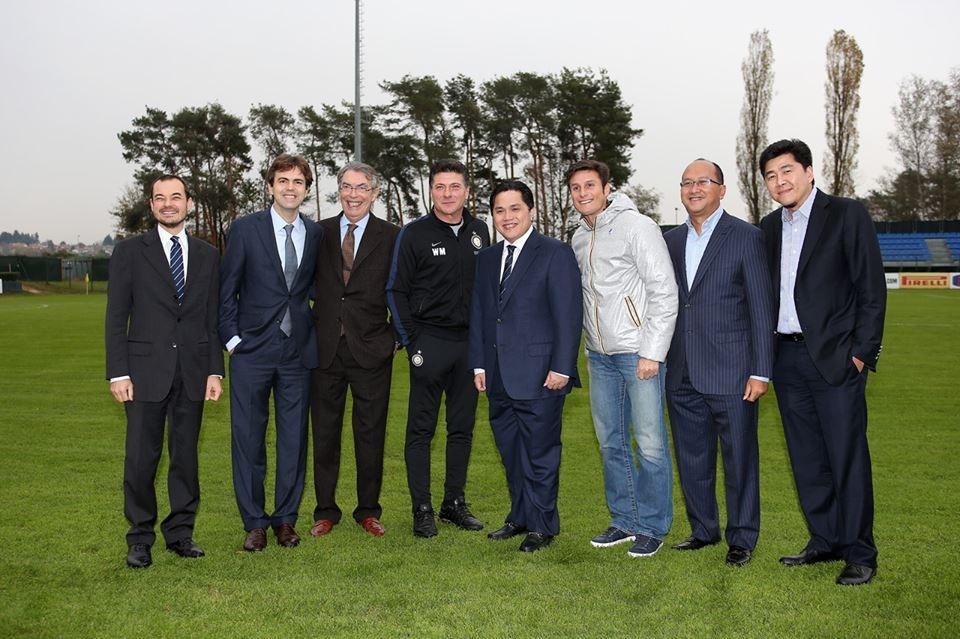 SERIE A INTER MILAN : Ronaldo and Zanetti accompany Mou on