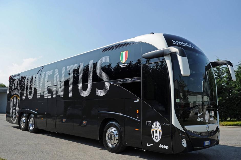 Juventus - Nuovo Pullman della Juventus Fc