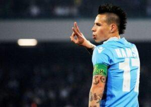 Calcio/Napoli, Hamsik: caviglia ko, salta il Verona