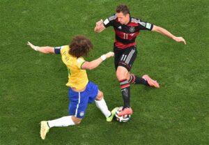 Miroslav Klose, David Luiz