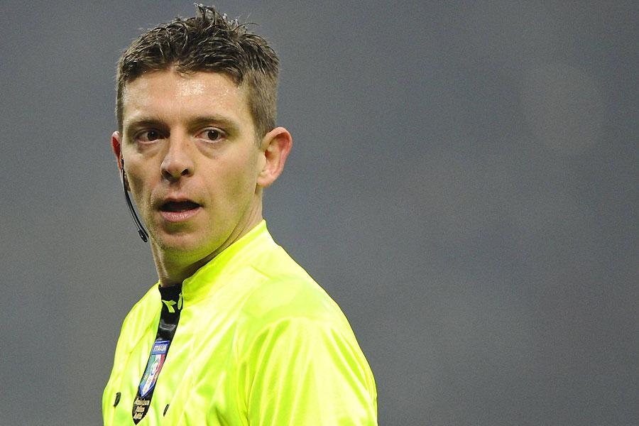 Arbitro Rocchi Roma Inter
