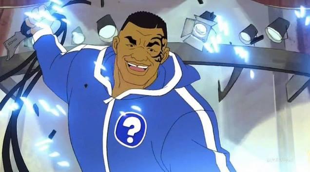 Mike tyson diventa detective in un cartone animato foto