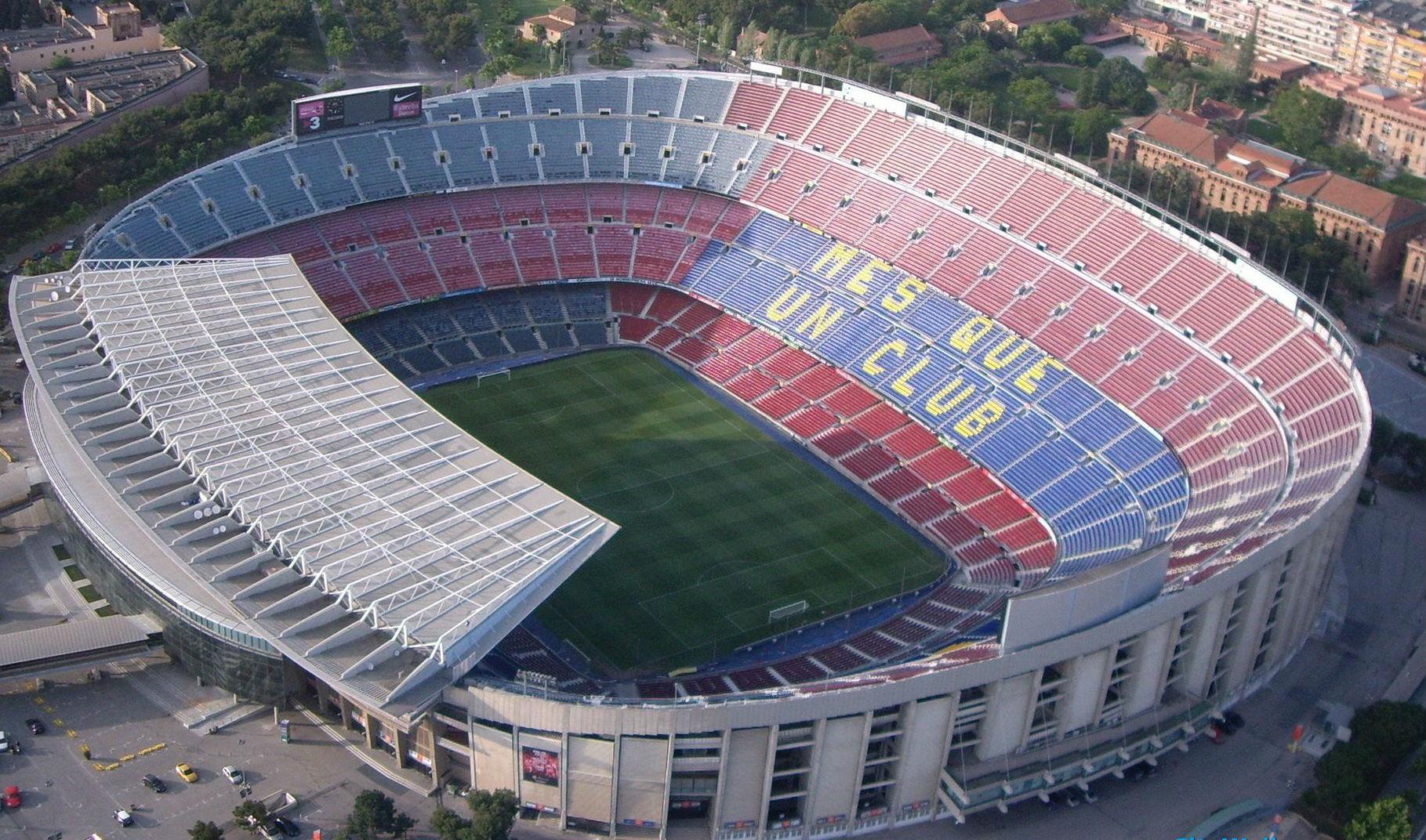 Le Foto Del Museo Blu A Barcellona : Gli stadi più belli del mondo il camp nou di barcellona