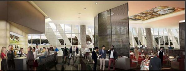 Stadio roma ecco tutte le immagini degli interni del - Design degli interni roma ...
