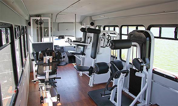 Mobile gym la palestra mobile che ti porta da casa al - Palestra in casa ...