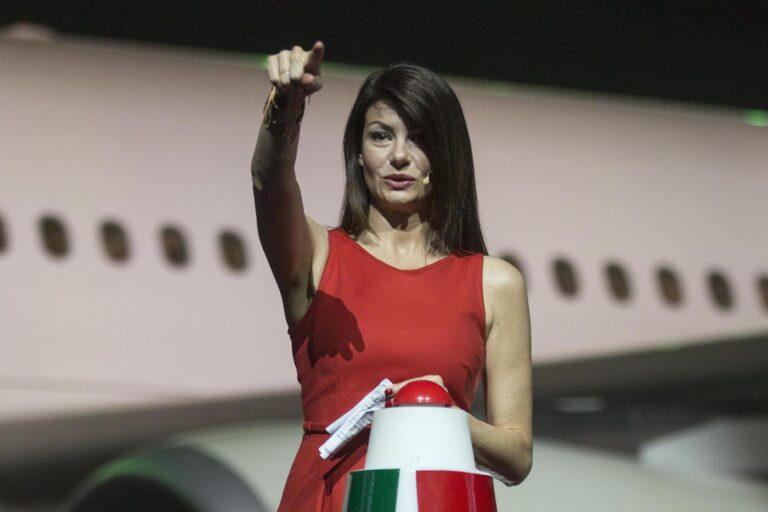 Ilaria D'Amico (Foto LaPresse / Roberto Monaldo)