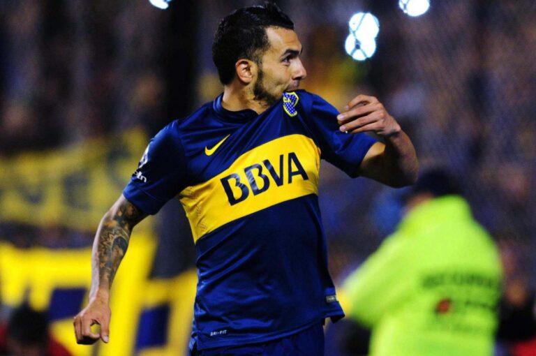 Boca Tevez Libertadores