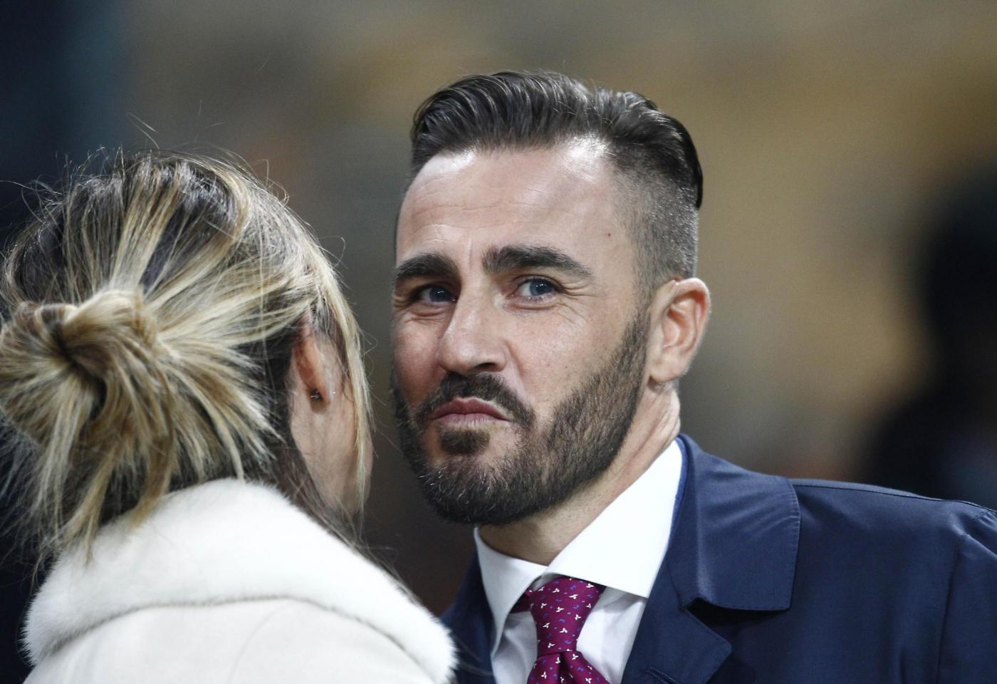 """Fabio Cannavaro sta con i tifosi del Napoli """"Higuain Ecco e l"""