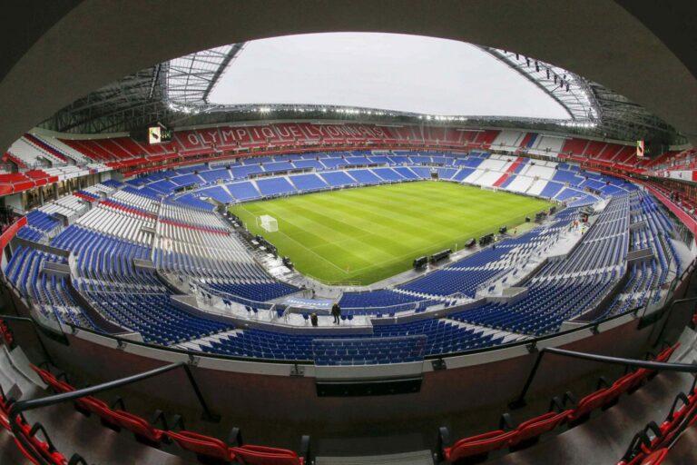 Parc Olympique Lyonnais, Lione (59 mila spettatori) (Lapresse - Reuters)