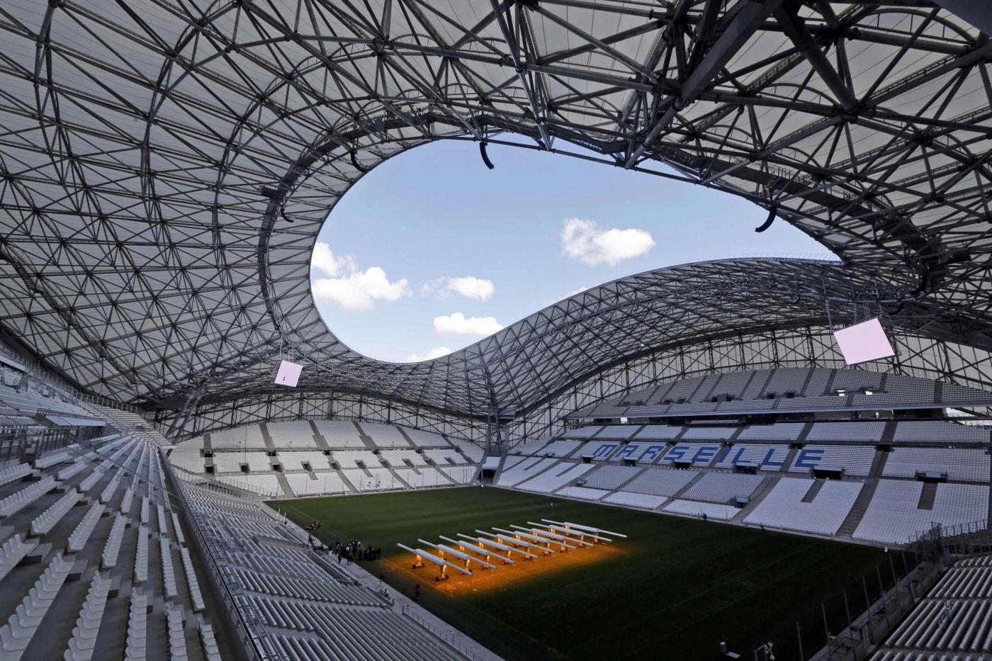 Velodrome, Marsiglia (67 mila spettatori) (Lapresse - Reuters)
