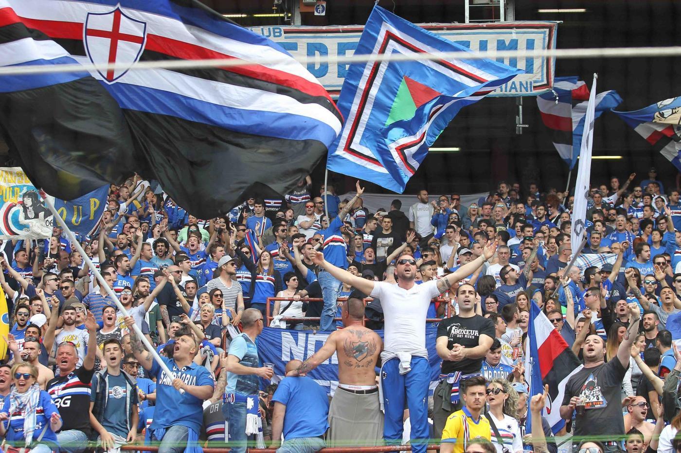 Terza Maglia Sampdoria prima