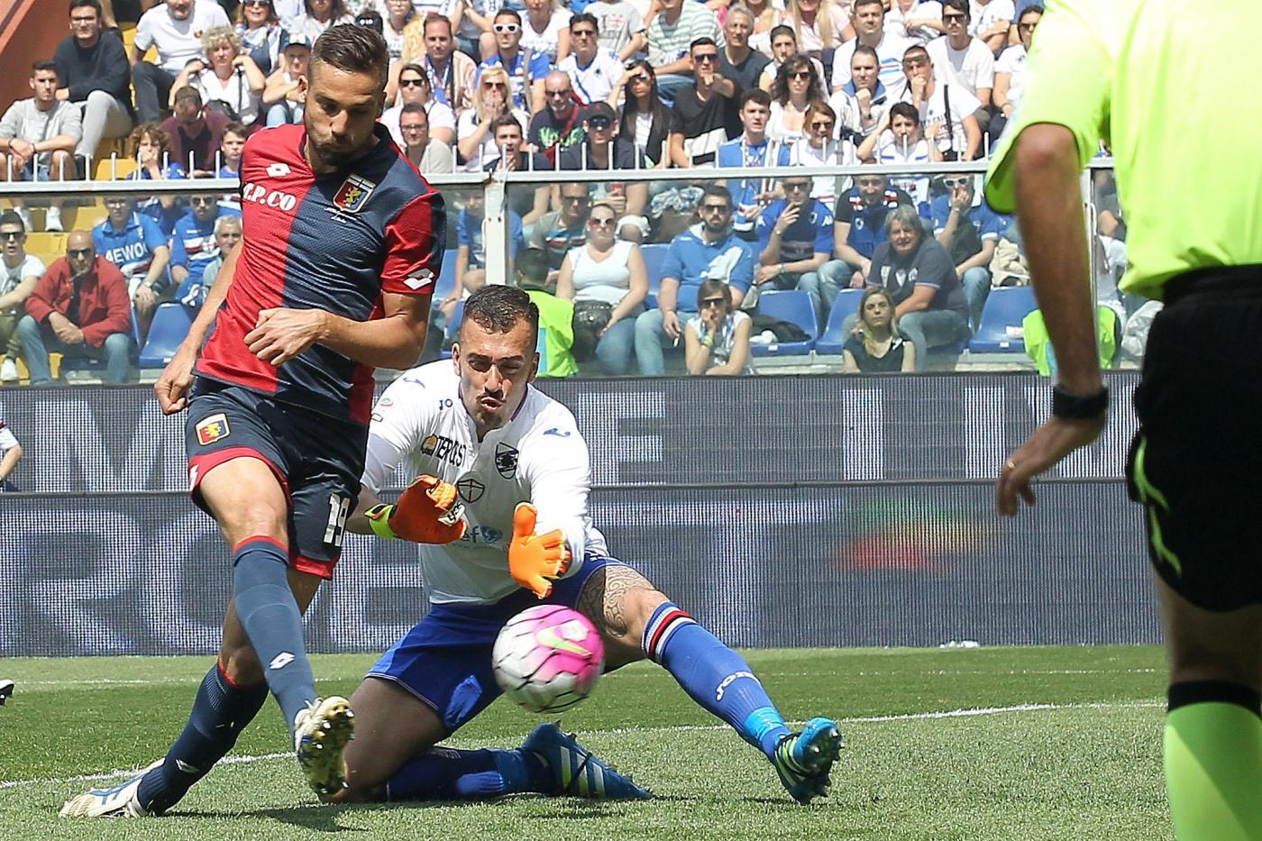Sampdoria-Genoa 0-3: le pagelle di CalcioWeb