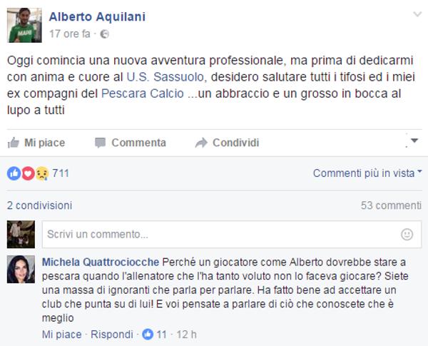 Post Aquilani