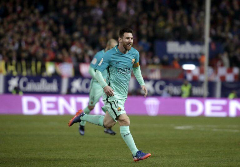 Messi (LaPresse/EFE)
