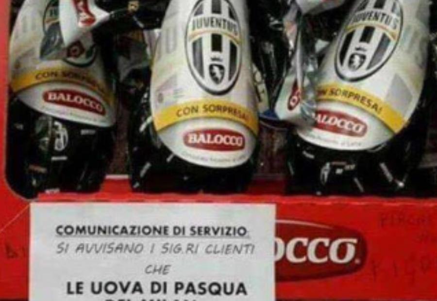 Uovo Di Pasqua Juventus Sfottò Ad Inter E Milan Ma è Un