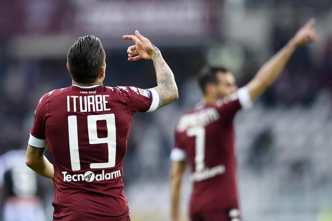 Iturbe (Foto LaPresse/ Fabio Ferrari)