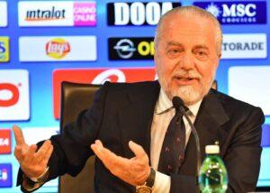 """De Laurentiis:""""Portiamo la Serie A in giro per l'Europa"""""""