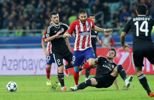 Champions League, la Roma sorride: clamoroso tonfo dell'Atletico col Qarabag!