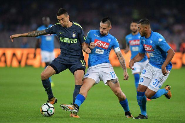 L'Inter ferma il Napoli e la Juve ringrazia: al 'San Paolo' finisce 0 0, super Handanovic!
