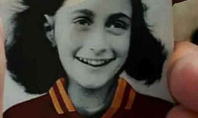 Lazio Roma Anna Frank