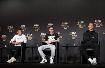 Pallone d'Oro Messi Ronaldo