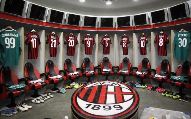 Panchine Spogliatoio Calcio : Milan gattuso le prova tutte: retroscena clamoroso nello