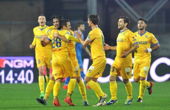 Serie B, succede di tutto ad Empoli: il Frosinone si fa raggiungere last minute, finisce 3 3