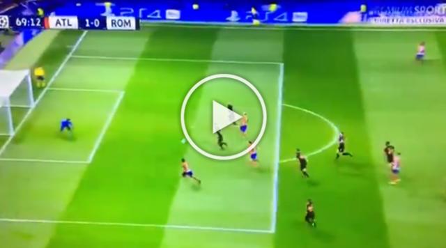 La Roma rinvia la qualificazione, l'Atlético Madrid si impone 2-0