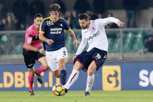 Pagelle Verona Bologna 2 3, Okwonkwo entra e segna