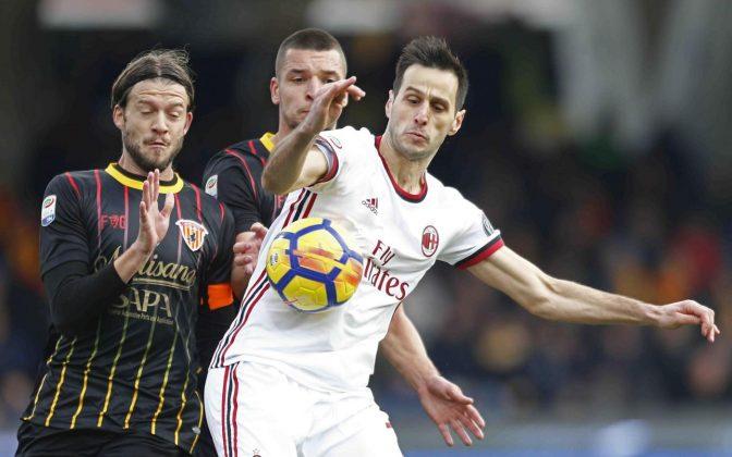 Milan Benevento streaming