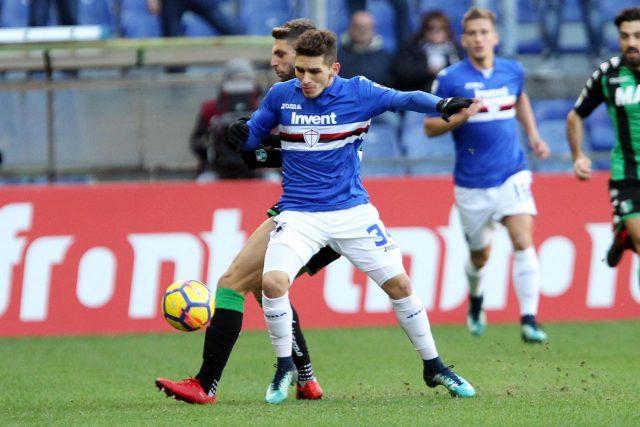 Sassuolo Sampdoria formazioni ufficiali