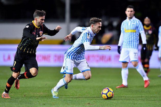 """Benevento sprecone, dal vantaggio alla debacle: Spal """"corsara"""" grazie a Floccari"""