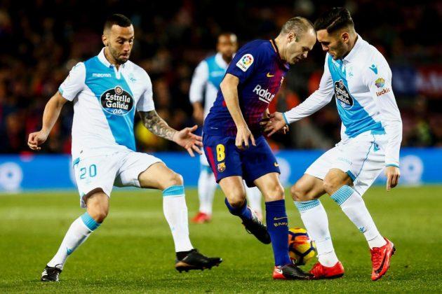 Barcellona show, tutto facile contro il Deportivo: Paulinho goleador [FOTO]