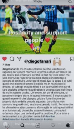 Inter, Santon nel mirino della critica: la moglie del calciatore risponde così [FOTO]