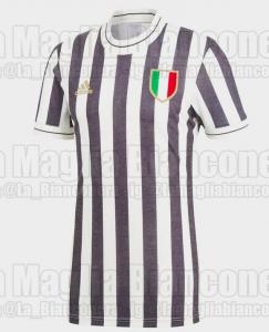 Juventus, l'Adidas è pronta a lanciare una maglia 'vintage' per i tifosi [FOTO]