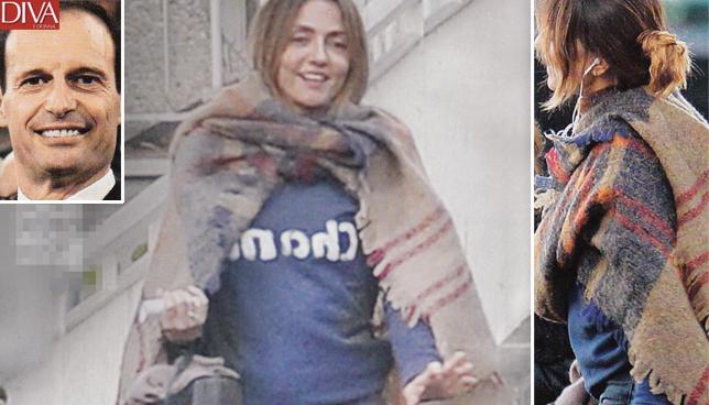 Ambra Angiolini |  pancino sospetto |  bebè in arrivo per Massimiliano Allegri? FOTO