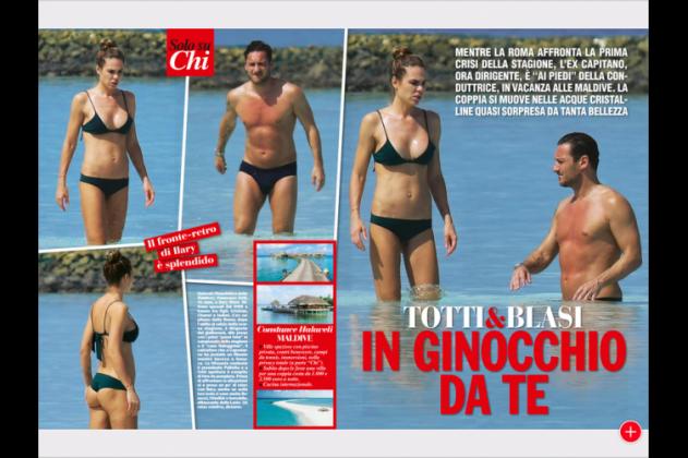 Buffon D'Amico e Totti Blasi, sexy relax: ecco come le coppie si sono… rilassate [FOTO]