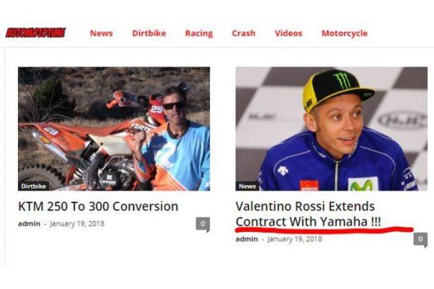 MotoGp – Futuro Valentino Rossi, il clamoroso annuncio sul Dottore!